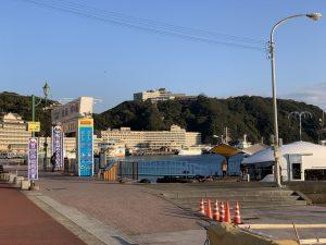 ホテル浦島の乗船場所