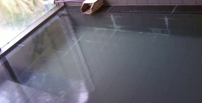 天然温泉 「 ツルの湯 」 「 嵐の湯 」